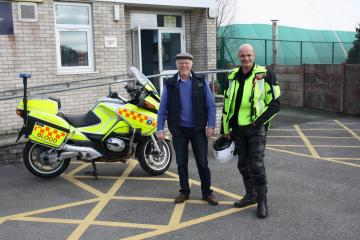 Donation to North West Blood Bikes Lancs and Lakes