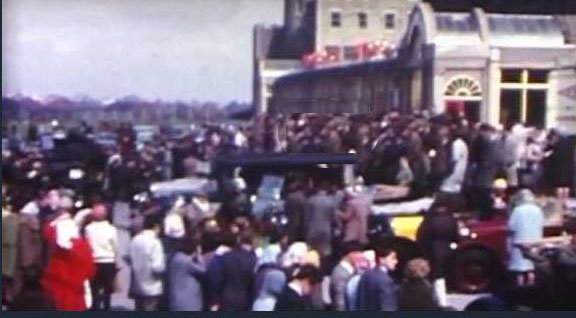 8mm Film of the First Veteran and Vintage Car Run