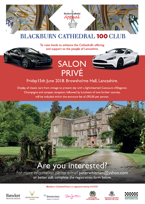 Bowker Salon Prive Friday 15th June